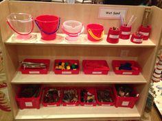 Wet sand resources Eyfs Classroom, Classroom Layout, Classroom Design, Classroom Ideas, Water Tray, Sand And Water, Reception Class, Reception Areas, Class Displays