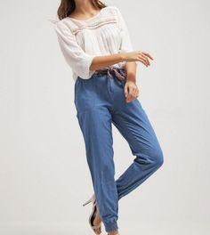 Springfield Spodnie jeansowe a la dres blues