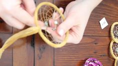 DIY Dreamcatcher Tutorial - The Weaving Process