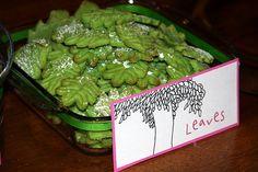 Cute leaf Cookies