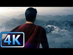 Superman's First Flight | Man of Steel (2013) | 4K ULTRA HD - YouTube