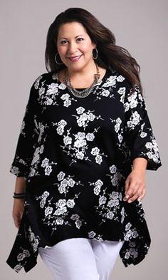 Plus Size Tops – NEVE BLOUSE – Plus andSuper Plus Size Clothes for Women