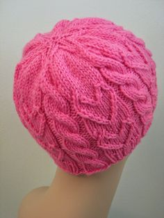 Knit pattern for chemo hat Sweetheart Beanie