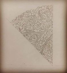 Exquisite Learn To Draw A Realistic Rose Ideas. Creative Learn To Draw A Realistic Rose Ideas. Flower Pattern Drawing, Flower Pattern Design, Pattern Art, Flower Patterns, Flower Designs, Floral Design, Paisley Pattern, Print Patterns, Realistic Flower Drawing