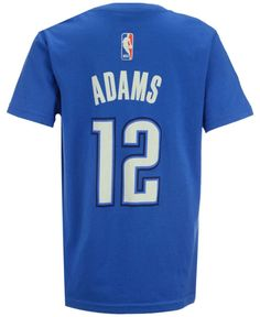 adidas Boys' Steven Adams Oklahoma City Thunder Name And Number T-Shirt