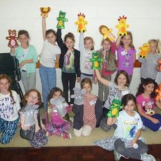 Some of the fun had at the Glenelg Pop Star Workshop during the recent school holidays