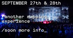 september 27th & 28th Villa Tittoni #Desio @KernelFestival another #mapping experience in #Italy