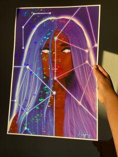 Nyan Charge- Holographic Print