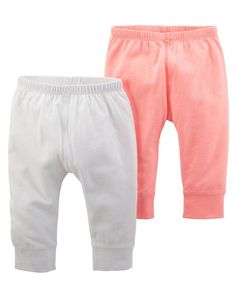 Baby Girl Bottoms, Baby Girl Pants, Carters Baby Girl, Toddler Outfits, Kids Outfits, Girls Wardrobe, Kids Pants, Pull On Pants, Complete Outfits