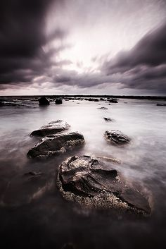 hop, skip and jump, a path to nowhere, great ocean rd, victoria, australia by Darren Bennett