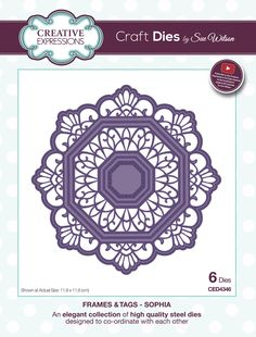 Sue Wilson FINISHING TOUCHES COLLECTION Meandering Twigs CED1499 1 Die