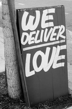 We deliver love (by Terry Richardson) #quotes #love