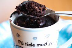 Nugattikake i kopp Brownies, Sweet Treats, Good Food, Food And Drink, Ice Cream, Baking, Desserts, Cake Brownies, No Churn Ice Cream