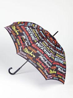 Script Umbrella by Moschino
