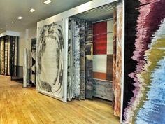 COLORS EXHIBITION in Serge LESAGE Showroom in Paris! 90, boulevard ...