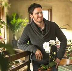 Colin O'Donoghue in video the words by Christina Perri. Love Christina and her music and Colin (Captain Hook)!