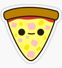 Pineapple Pizza Stickers Yummy ham and pineapple pizza Sticker 365 Kawaii, Kawaii Art, Cute Food Drawings, Cute Kawaii Drawings, Kawaii Doodles, Felt Patterns, Cute Stickers, Doodle Art, Cute Cartoon