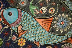 Folk Art Fish Paintings - Invitation Samples Blog