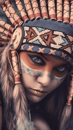 Best Iphone X Wallpapers (backgrounds) hd Native American Face Paint, Native American Tattoos, Native Tattoos, Native American Artwork, Native American Quotes, Indian Women Tattoo, Indian Girl Tattoos, Indian Tattoo Design, American Indian Girl