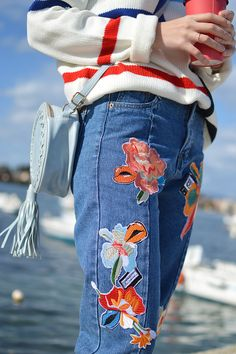Clothing Blogs, Going Out, That Look, Fashion Outfits, Jeans, Beautiful, Fashion Sets, Gin, Denim