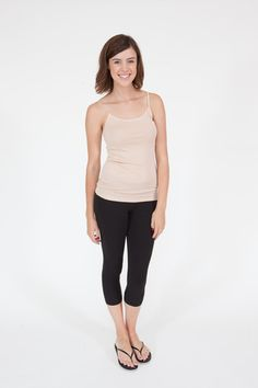 Joie Coraline Slub-Knit Camisole Pink Sand | Tanks | June Ruby