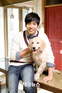 Lee Seung Gi ~ when he's a jerk in the dramas I totally believe his meanness and hate him, but when he falls in love and is a gentleman he is totally adorable and me LOOOVE!