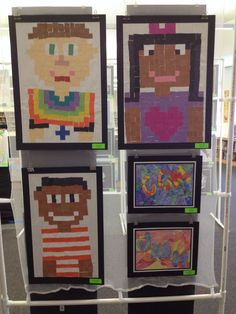 minecraft selfie art project - Google zoeken