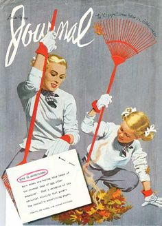 Cover illustration by Al Parker for 'Ladies' Home Journal'