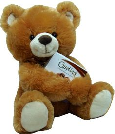 """Delight Expressions™ 13"""" Chocolate Bear Gourmet Gift - A Valentine's Day Gift Idea - Birthday or Get Well Gift - http://mygourmetgifts.com/delight-expressions-13-chocolate-bear-gourmet-gift-a-valentines-day-gift-idea-birthday-or-get-well-gift/"""