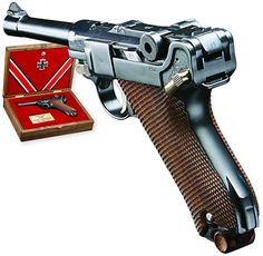 Luger P-08. The genius of Georg Luger will always be reflected in his famous pistol, adopted for military service in 1908, hence the name Pistole 1908 or P-08.