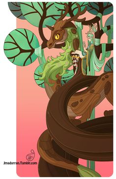 Tree Lady - Year of the Wood Dragon A print of this picture is available on my online print shop. :)