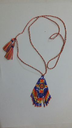 Miyuki beads, tassel necklace, bali necklace, wholesale necklace