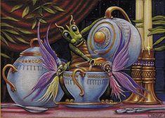 Randall Spangler    PERFECT for me!  I love tea AND dragons!
