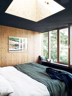 the makings of modern cabin.