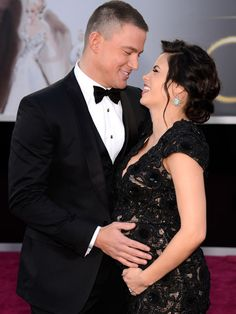 Channing and Jenna.  Cutest couple ever.