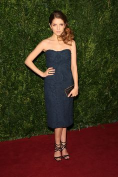 Anna Kendrick - 60th London Evening Standard Theatre Awards in London 11/30/14