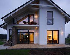 Z CHARAKTEREM 3 - realizacja projektu - Średnie jednopiętrowe nowoczesne domy jednorodzinne murowane z dwuspadowym dachem, styl nowoczesny - zdjęcie od DOMY Z WIZJĄ - nowoczesne projekty domów - homebook