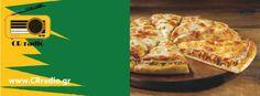 Διαγωνισμοι crradio.gr Το δώρο του διαγωνισμού είναι ένα Double Pizza Burger – Τορτίγια Mozzarella από τη Pizza Fan