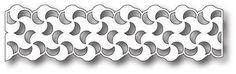 PoppyStamps Die Swirly Curl Border Background