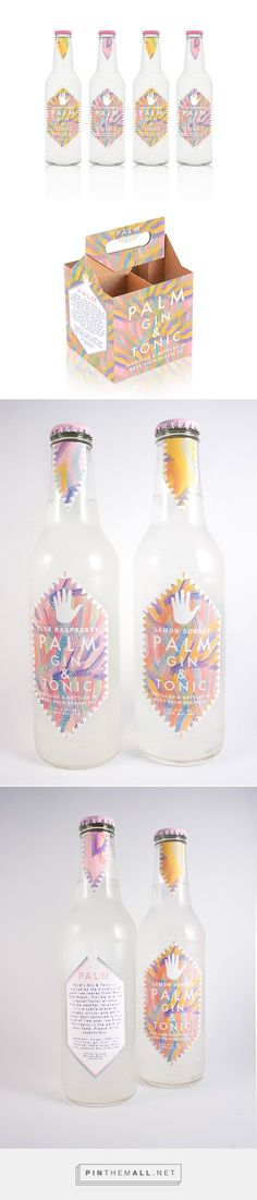 Palm Gin & Tonic | #packaging #bottledesign #gintonic