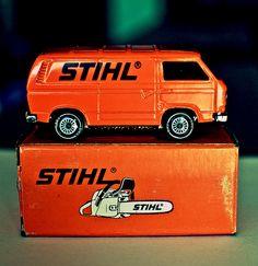 Stihl promotional VW Transporter model