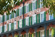 The Marshall House, One of the Oldest Hotels in Savannah, GA