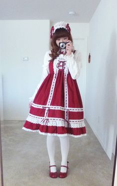 Crazy Painting Lolita - chechecat:   wearing Baby Doll JSK from Baby the...