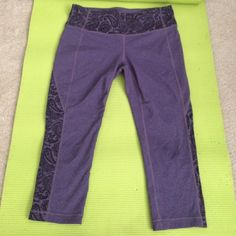 Athletes splits revelation Capri Size M tight capris from Athleta. In perfect condition- I bought them for my mom and they were too small and she never wore them. The fit right at the calf between the knee and foot. Athleta Pants Capris