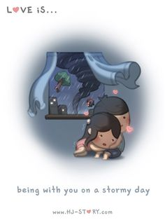 HJ-Story :: Stormy Day | Tapastic - image 1