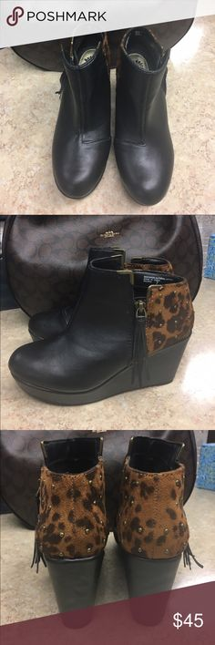 Yellow Box Booties EUC Yellow Box Booties worn only once. Super trendy and cute. 3 inch heel. Yellow Box Shoes Ankle Boots & Booties