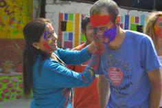 Festival #Holi 2014 #nepal #pokhara #voluntariado #volunteer #voluntariadointernacional #voluntariadonepal