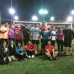 Nuestros Runners felices con el entrenamiento grupal de día #Miércoles en centro deportivo #Fitnex