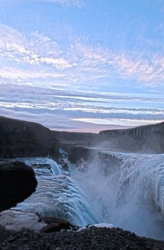 Golden Falls, Iceland by Eivind W, via Flickr