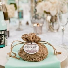 10 ways to incorporate Burlap into your wedding decor. Its all about using little touches here & there…